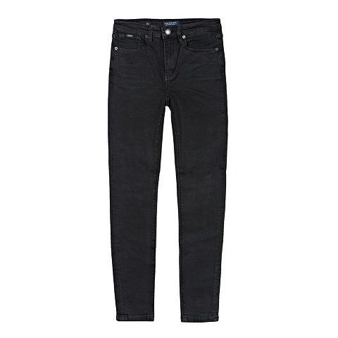 Funky Buddha Funky Buddha Ladies Denim Pants BLACK