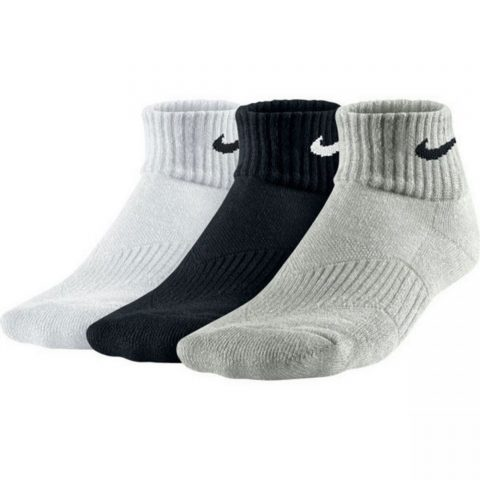 Nike Kids' Nike Cotton Cushion Quarter Sock (3 Pair)