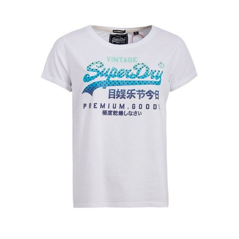 Superdry Superdry Premium Goods Infill BF TEE