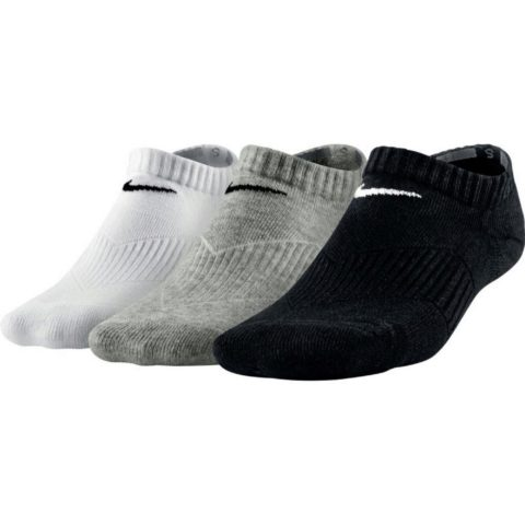 Nike Kids' Nike Cotton Cushion No-Show Sock (3 Pair)