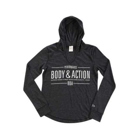 Body Action Body Action Women V Neckline Hoodie