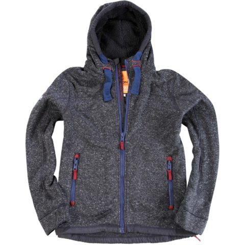 Body Action Body Action Men Thick Fleece Zip Hoodie