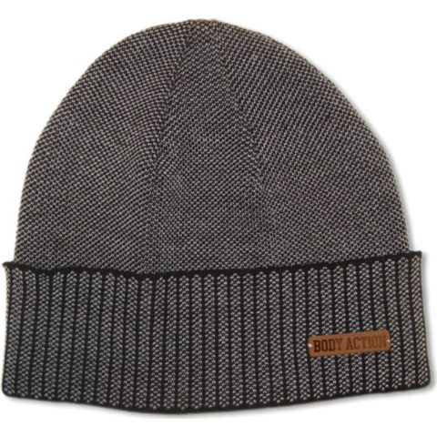 Body Action Body Action Jacquard Knit Beanie Hat