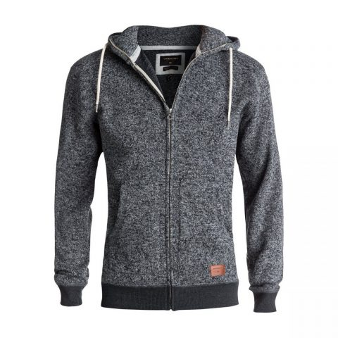 Quiksilver QuikSilver Keller Zip-Up Polar Fleece Hoodie