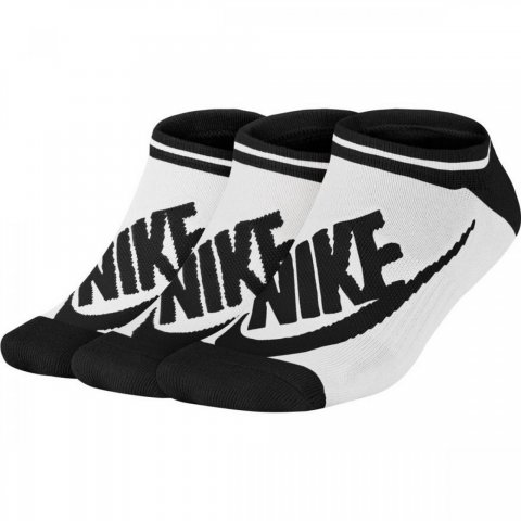 Nike Women's Nike Sportswear Striped No-Show Socks (3 Pairs)