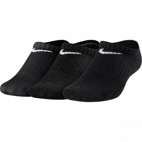 Nike Kids' Nike Performance Cushioned No-Show Training Socks (3 Pair)