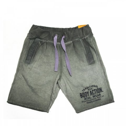 Body Action Body Action Men Jogger-Style Sweat Shorts