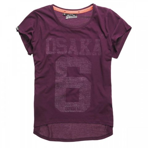 Superdry Superdry Osaka Burn Out TEE