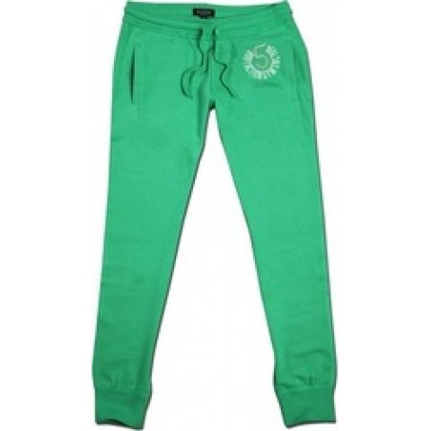 Body Action Body Action  Women Relaxed Fit Pants (Green)