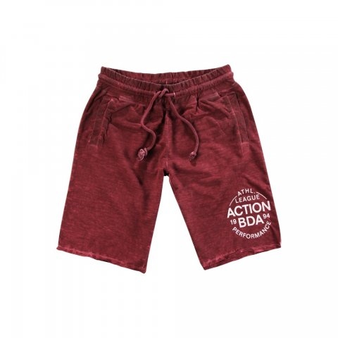 Body Action Body Action Women Regular Fit Bermuda Pants (D.Maroon)