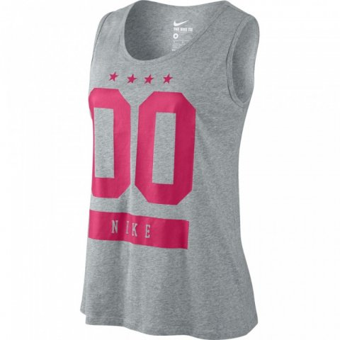 Nike Nike Womens Tank Top Grey/Pink
