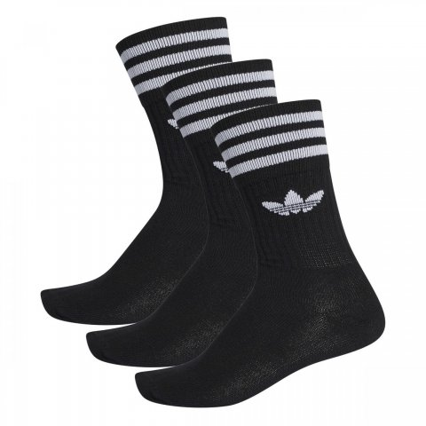 adidas Originals Adidas SOLID CREW SOCK 3 PACK