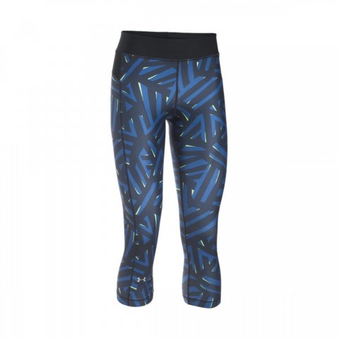 Under Armour Under Armour HeatGear Armour Printed Capri