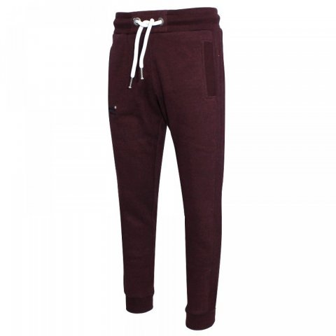 Superdry Superdry Orange Label Cuffed Jogger (Boston Bungundy Grit)