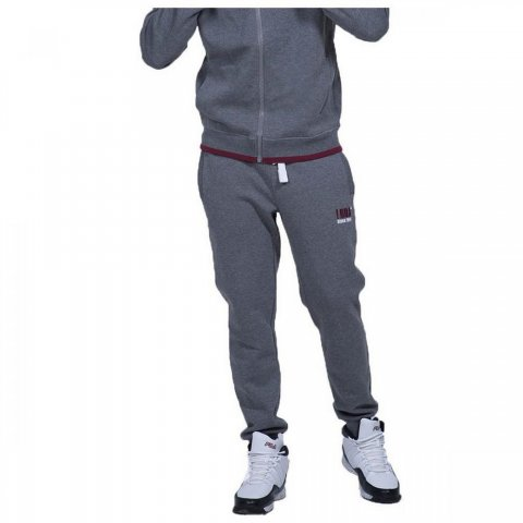 Body Action Body Action Men Sport Fleece Joggers (D.Mel Grey)