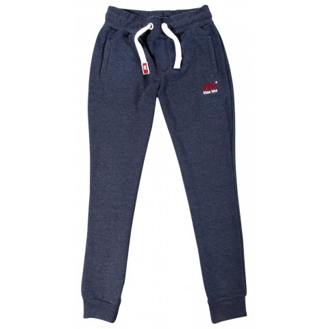 Body Action Body Action Men Sport Fleece Joggers (D.Blue)