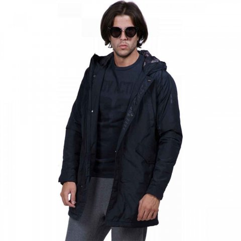 Body Action Body Action Men Heavy Weight Parka (black)