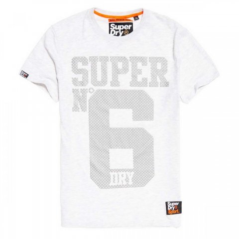 Superdry Superdry Super No 6 Tee (ice marl)