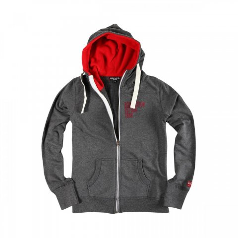 Body Action Body Action Women Hooded Jacket (D.MEL.GREY)