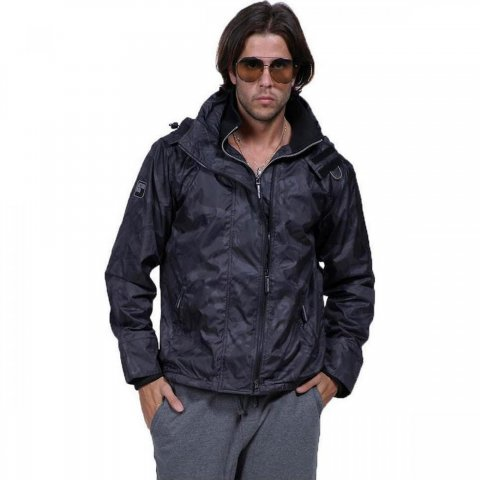 Body Action Body Action Men Winter Fleece (D.GREY)