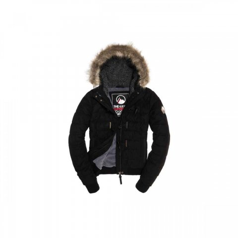 Superdry Superdry Microfibre Toggle Puffer (black)