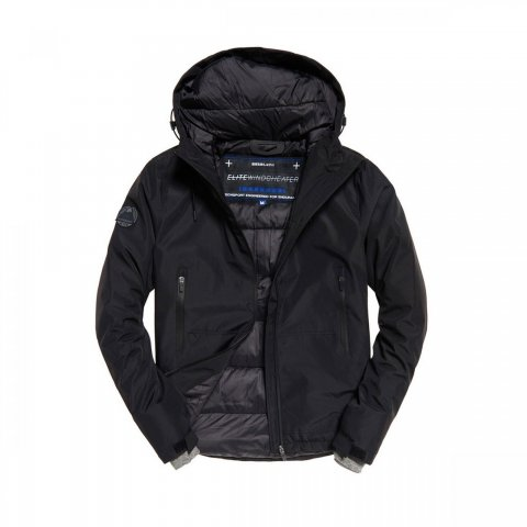 Superdry Superdry Padded Elite Windcheater (black)