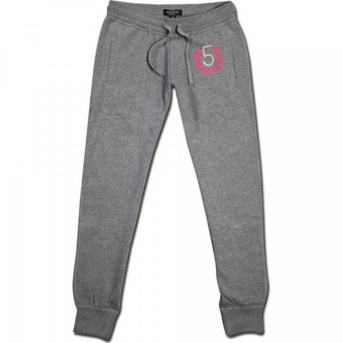 Body Action Body Action Women Relaxed Fit Pants (D.Mel.Grey)