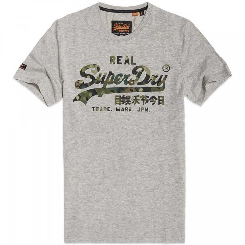 Superdry Superdry Vintage Logo Layered Camo TEE