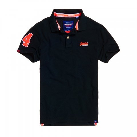 Superdry Superdry Classic Pique Polo (Blackboard)