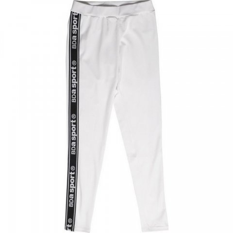 Body Action Body Action Women Fitted Leggings (White)