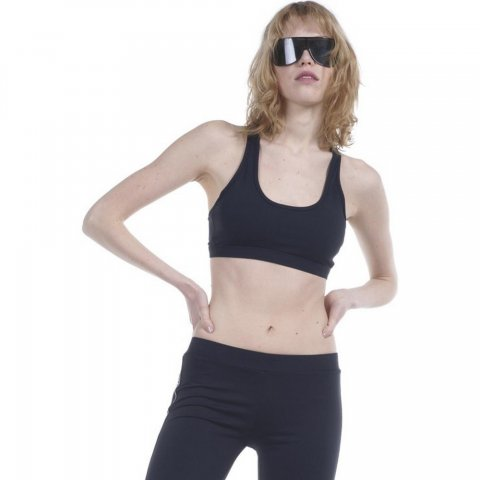 Body Action Body Action Women Sports Bra (Black)