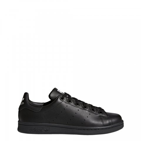 adidas Originals STAN SMITH J BLACK/BLACK/FTWWHT