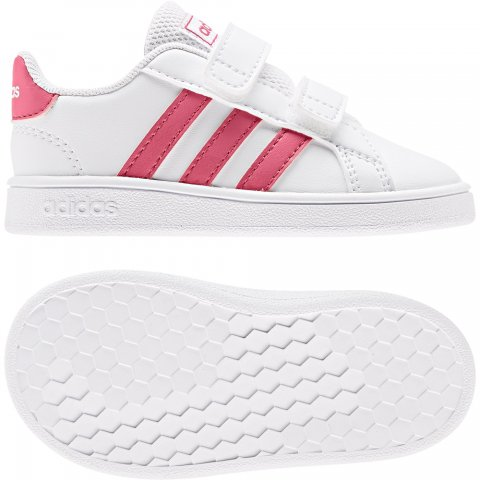 adidas Core ADIDAS GRAND COURT I WHITE/PINK