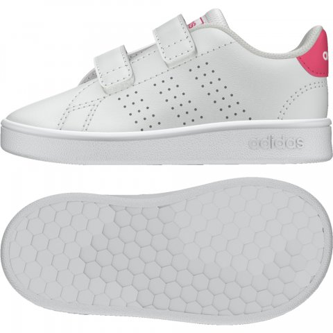 adidas Core ADIDAS ADVANTAGE I  WHITE/PINK