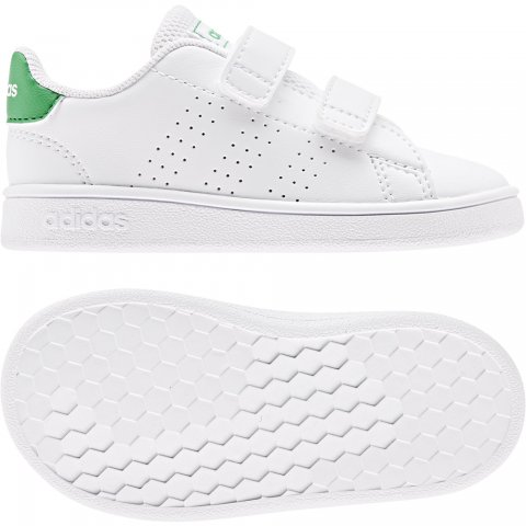adidas Core ADIDAS ADVANTAGE I  WHITE/GREEN