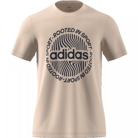 adidas Core ADIDAS M CRCLD GRFX T LINEN/WHITE