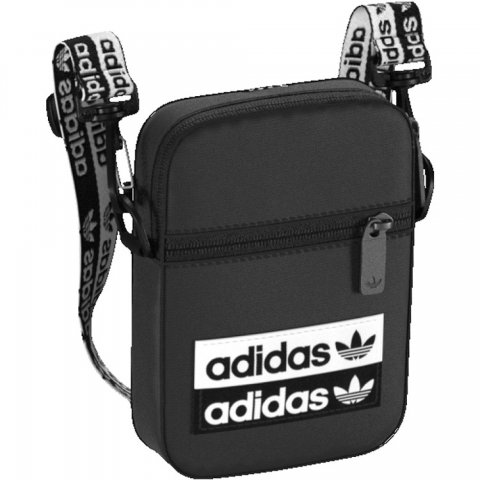 731d34c9e1 adidas Originals ADIDAS FEST BAG BLACK WHITE