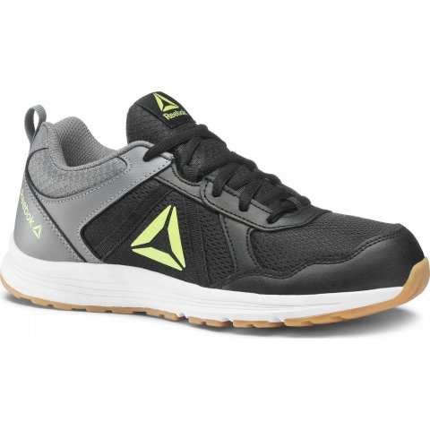 Reebok  REEBOK ALMOTIO 4.0 BLACK/GREY/LIME