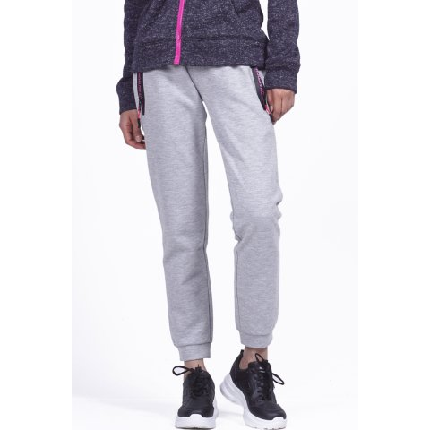 Body Action BODY ACTION WOMEN GYM TECH JOGGERS - L.ΜΕL.GRΕΥ