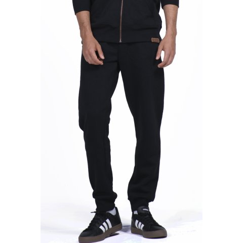 Body Action BODY ACTION MEN SPORT FLEECE JOGGERS BLACK
