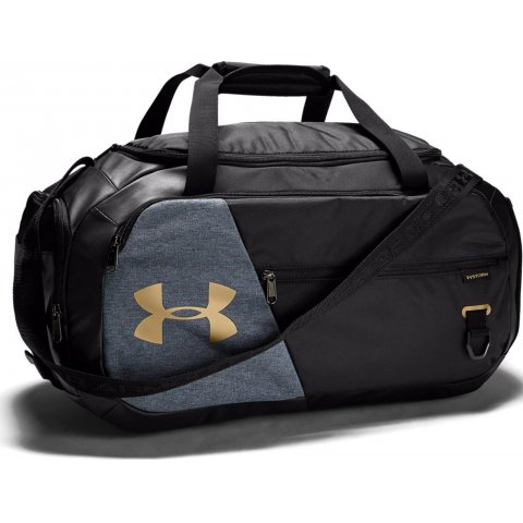 Under Armour UA Undeniable Duffel 4.0 Small Duffle Bag Black Gold
