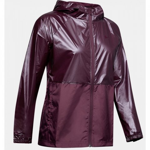 Under Armour Women's UA Metallic Woven Full Zip