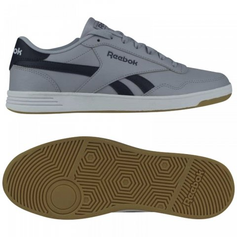 Reebok Classic REEBOK ROYAL TECHQU COLD GREY/NAVY/WHT/G