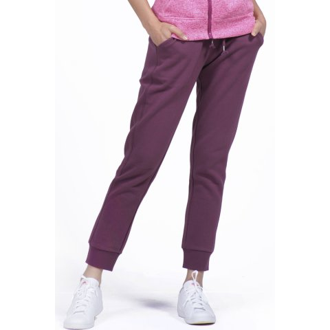 Body Action BODY ACTION WOMEN RELAXED JOGGERS - D.ΡURΡLΕ