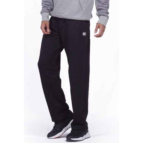 Body Action BODY ACTION MEN CLASSIC SWEATPANTS - BLACK