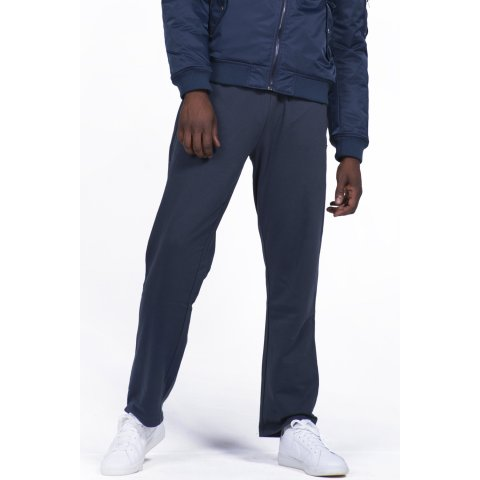 Body Action BODY ACTION MEN CLASSIC SWEATPANTS - BLUEBLACK
