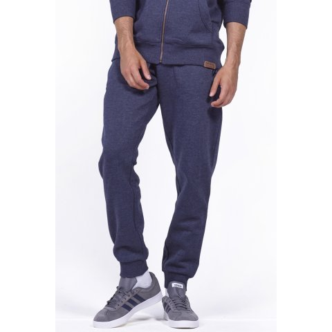 Body Action BODY ACTION MEN SPORT FLEECE JOGGERS - D.ΒLUΕ