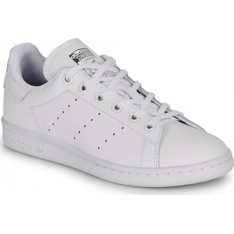 adidas Originals ADIDAS STAN SMITH J FTWWHT/FTWWHT/SILVMT