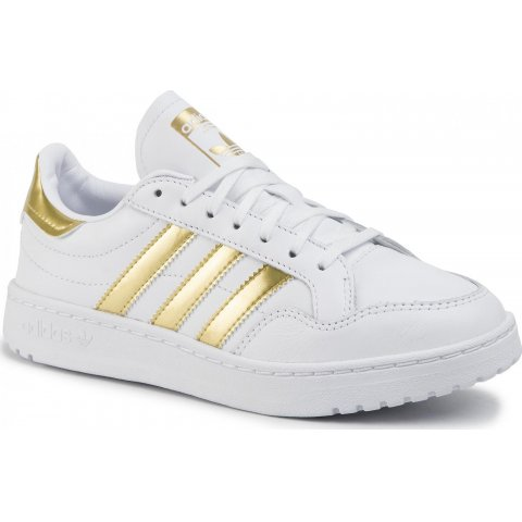 adidas Originals ADIDAS TEAM COURT W FTWWHT/GOLDMT/FTWWHT