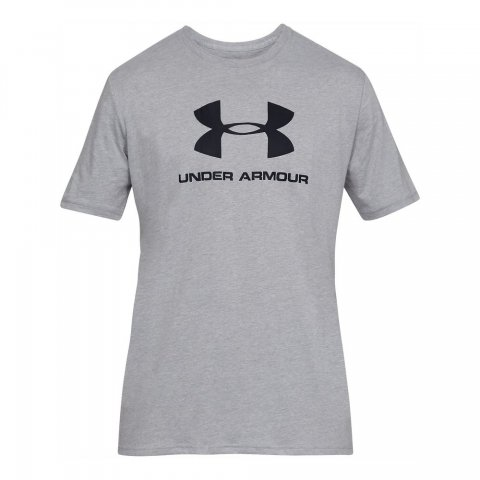 Under Armour Under Armour Sportstyle Logo Men's Graphic T-Shirt - Grey